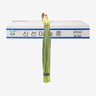 [대용량]마늘쫑 8kg x 1박스