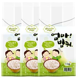 [무료배송] 고시히카리쌀 3kg(1kg x 3개)