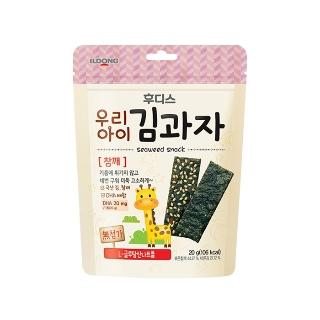 [슈퍼마트] 후디스 냠냠 김과자 참깨 20g (1입/3입/10입)