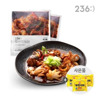 [티몬균일가] 236:) 쭈꾸미400g 1+1+1 순한맛/매운맛 + 라면사리 1개증정