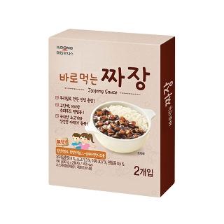 [슈퍼마트]후디스 바로먹는 짜장 160g