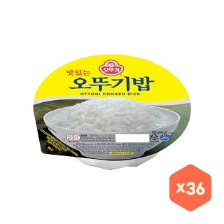 [슈퍼마트] 오뚜기밥 210g 36입(18입x2) 무배
