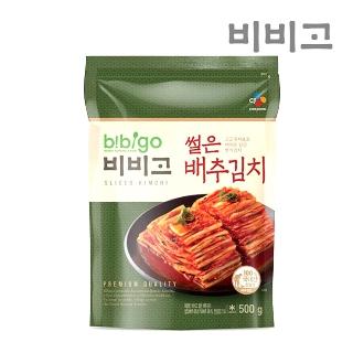 [슈퍼마트] CJ 비비고 썰은배추김치 500g