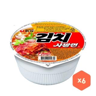 [슈퍼마트] 농심 김치 사발면 6입