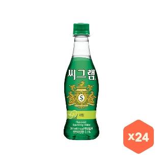 [슈퍼마트]씨그램 라임 350mlx24PET