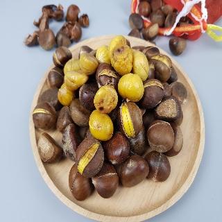 [미스터유] 노란 약단밤 알밤 1kg 쉽게 톡톡 까지는 맛난 간식