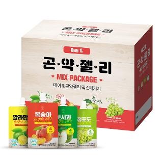 [슈퍼마트] 곤약젤리 믹스패키지 28포, 4가지맛 7포씩