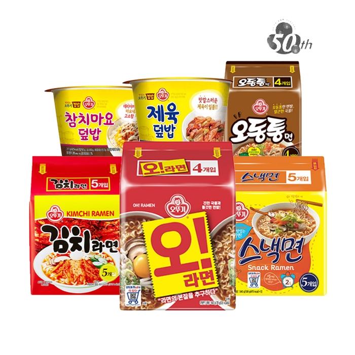 [무료배송] 오뚜기 신제품 오라면 외 라면/컵밥 45종 모음전