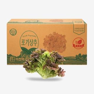 [대용량] 포기상추 4kg x 1박스