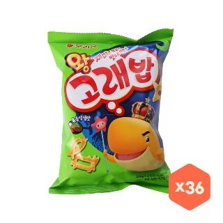 [대용량] 오리온 왕고래밥 볶음양념맛 56gX12입X3박스