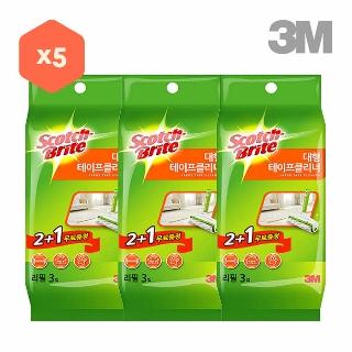 [티몬균일가] 3M 대형 테이프 클리너 리필 3입x5