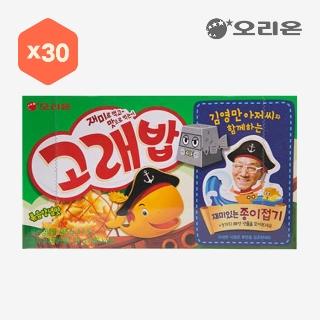 [슈퍼마트] 오리온 고래밥 볶음양념맛 40gX30입X1박스