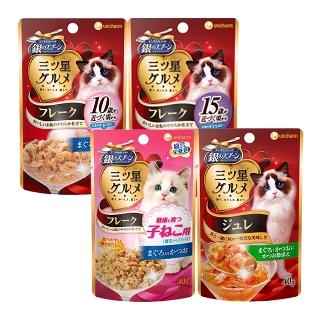 [티몬균일가] 유니참 미쓰보시 쥬레/후레이크 고양이 간식 40g x 12팩