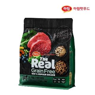[슈퍼마트] 더리얼 그레인프리 크런치 소고기 어덜트 1kg