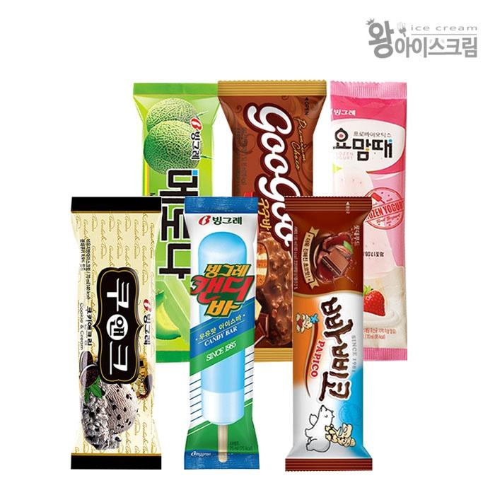 [아이스크림] 바/콘/홈 등 겨울철 인기 아이스크림 골라담기