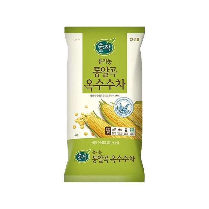통알곡옥수수차 1kg