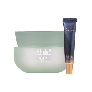 [티몬균일가] 한율 어린쑥 피부정화 마스크 60ml + AHC 아이크림 12ml
