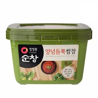 [슈퍼마트]대상 청정원 순창 양념듬뿍 쌈장 500g