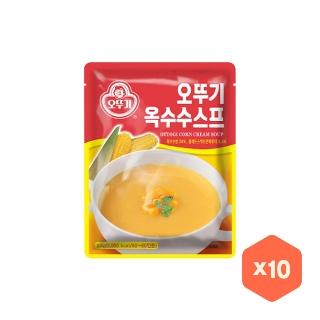 [슈퍼마트] 오뚜기 옥수수스프 1kg x10개