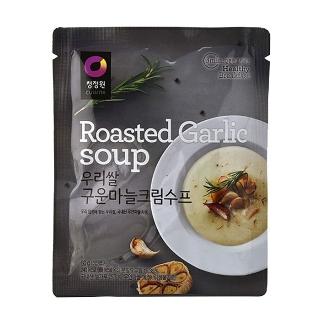 [슈퍼마트]청정원 우리쌀 마늘수프 60g