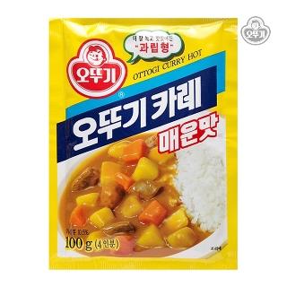 [슈퍼마트]  오뚜기 카레 매운맛 100g