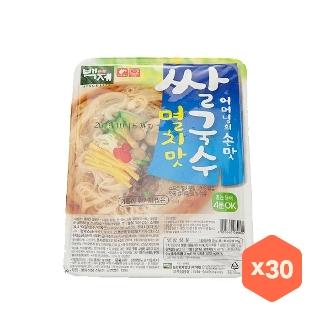 [슈퍼마트]백제쌀국수멸치맛92g*30입