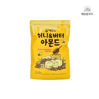 투데이넛 허니버터맛아몬드200g