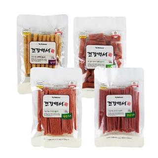 [티몬균일가] 건강백서 강아지 국내산 간식 3팩