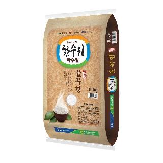 [슈퍼마트] 한수위 파주쌀 율곡향 10kg