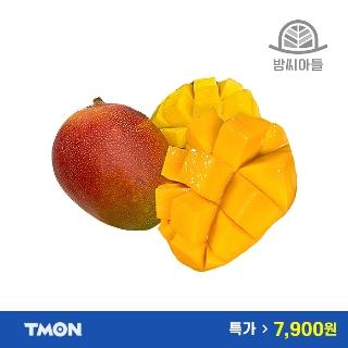 [특가위크] 필수특가 페루산 애플망고 2과 총800g 내외 / 2세트 구매시 총 2kg 발송