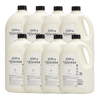 [티몬균일가] 순수크린 액체세제 2.5L 8개