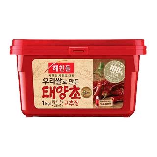 [슈퍼마트]CJ해찬들 태양초고추장 1kg