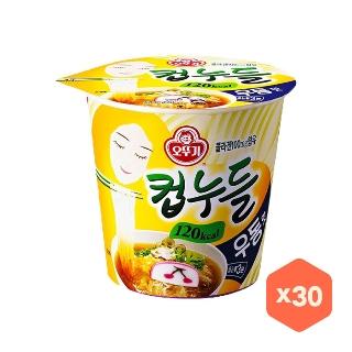 [대용량] 오뚜기 컵누들 우동맛 X 38.1g X 15입 X 4박스