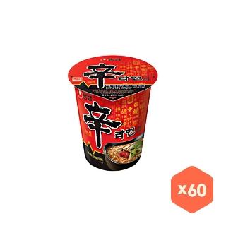 [대용량] 농심 신라면 소컵 60입(2박스)