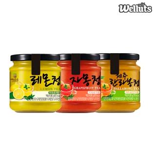 [가을생활백서] 자몽청/레몬청/한라봉청 280g 3종 골라담기 10,900원