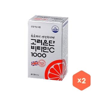 [티몬균일가] 고려은단 비타민C 1000 60정+60정