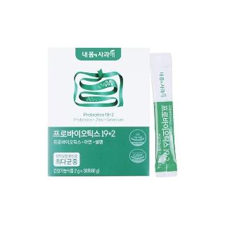 [티몬균일가] 내몸에사과해 프로바이오틱스 19+2 2박스 2개월분