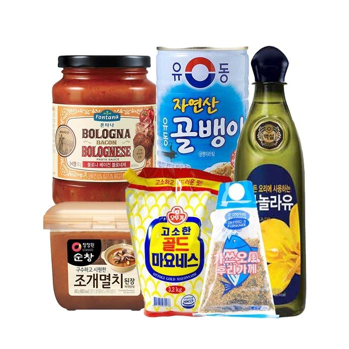 [단하루] 다시다/설탕/밀가루/고추장/케찹/간장/참기름/식초 등