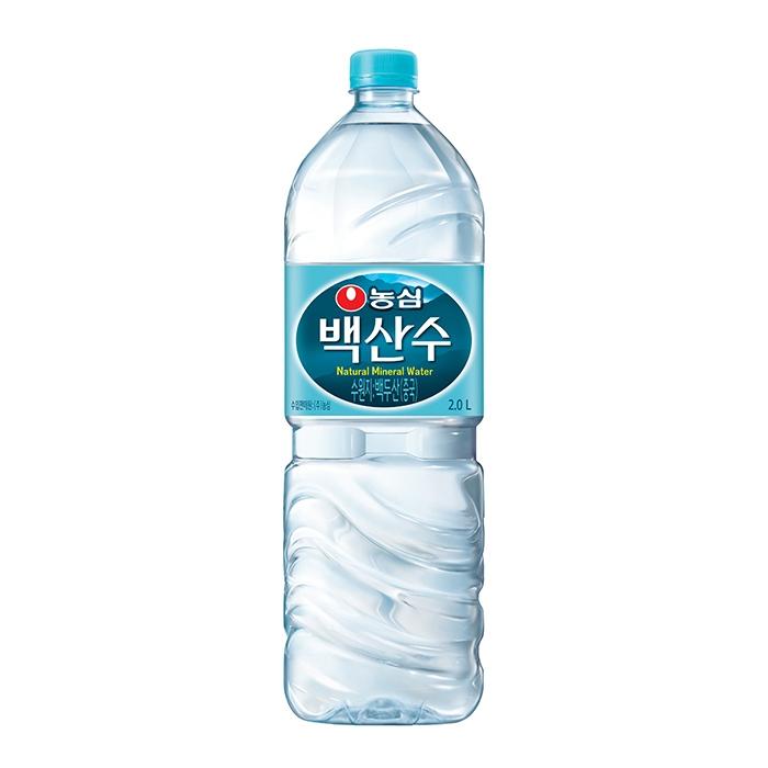 [백산수] 농심 백산수 2L 12pet