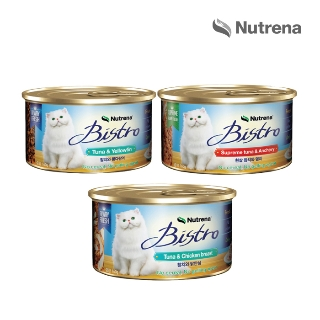 [슈퍼마트] 비스트로 참치&닭안심 160g 외 4종
