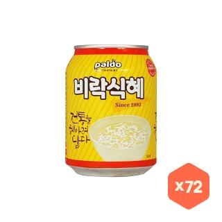 [대용량] 팔도 비락식혜238mlX12캔X6박스