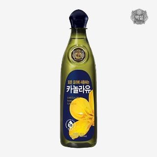 [슈퍼마트] CJ백설카놀라유900ml