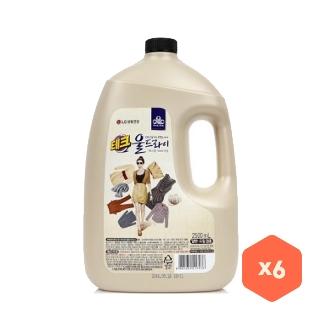 [티몬균일가] 테크 울드라이 용기 2.5L x6