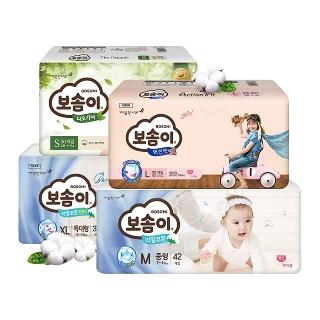 [슈퍼마트] 보솜이 기저귀 1BOX 모음전+쿠폰할인