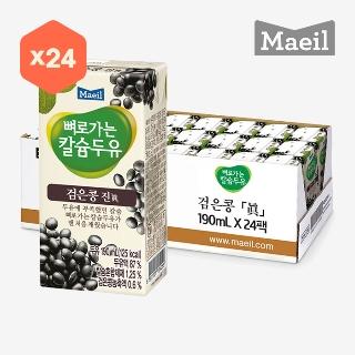 [슈퍼마트]뼈칼두유 검은콩 진 24팩