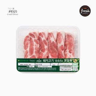 [슈퍼마트]냉장 허브한돈 목살 500g 1등급 암퇘지 (구이용)