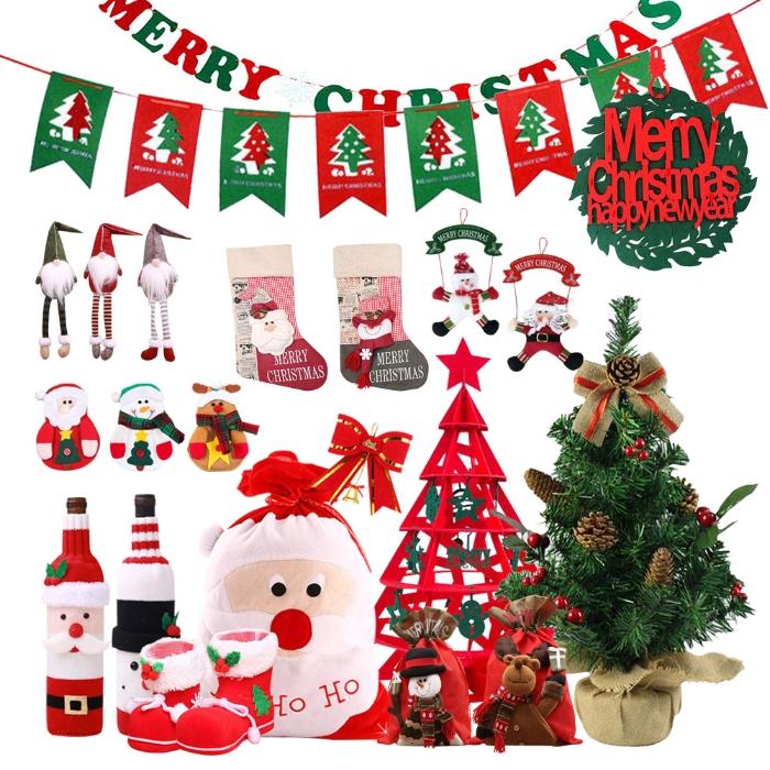 [크리스마스] 인테리어 소품 트리데코 장식 파티 데코