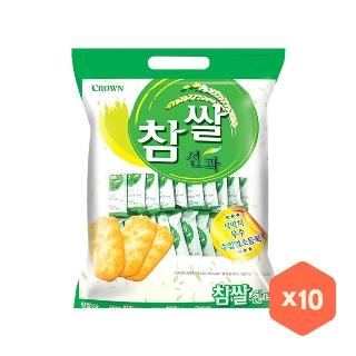 [대용량]크라운 참쌀선과 253gX10입X1박스
