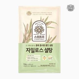 [슈퍼마트] 백설 스위트리 하얀 자일로스 설탕 5kg