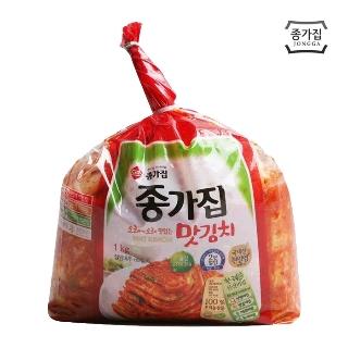 [슈퍼마트] 종가집 투명 맛김치 1kg